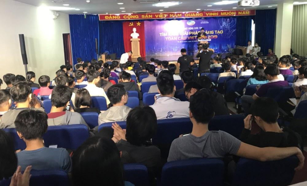 Lễ phát động cuộc thi thu hút đông đảo sự tham gia của giới trẻ tại TP.HCM.