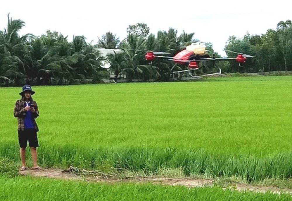 HTX An Long chuẩn bị mua máy bay để làm dịch vụ nông nghiệp.