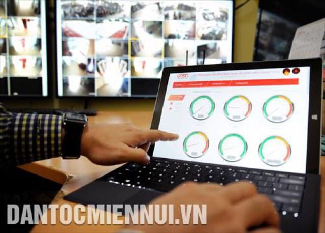 Phần mềm hệ thống giám sát, điều hành các hoạt động của Công viên phần mềm Quang Trung (thành phố Hồ Chí Minh).