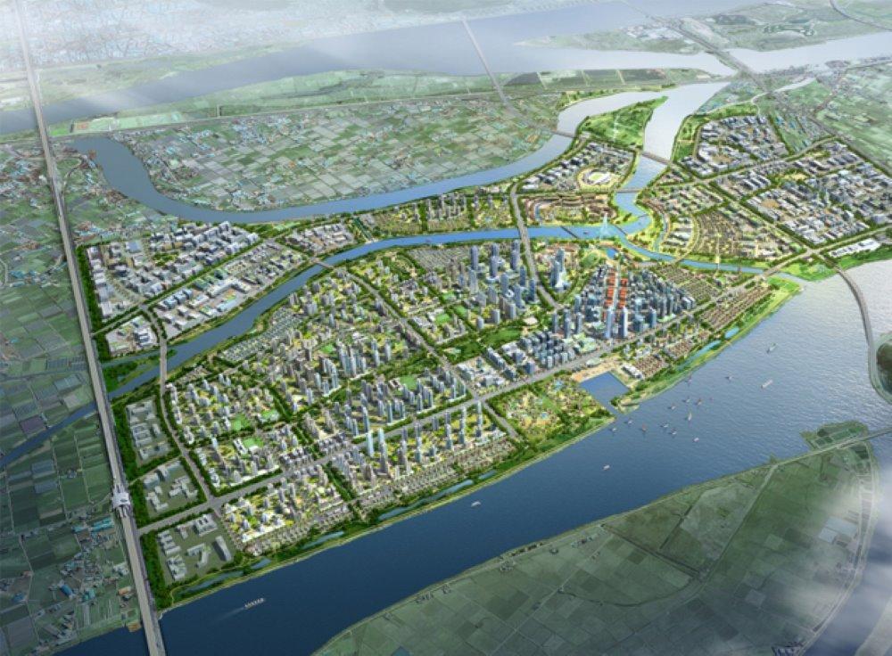 """Hạng mục Quản lý nước thông minh - """"Dự án nước thông minh - Thành phố thông minh đồng bằng sinh thái Busan"""" (Thành phố Busan - Hàn Quốc)"""