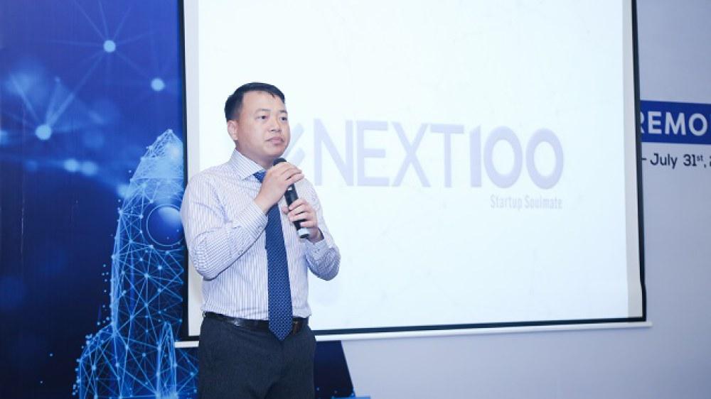 Ông Nguyễn Hoà Bình, Chủ tịch NextTech - Nhà sáng lập Quỹ Next100