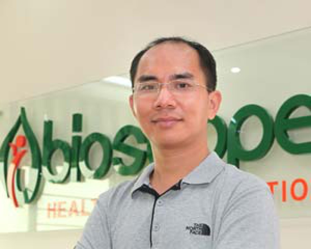 Ông Hùng Đặng – Chủ tịch tập đoàn Bioscope