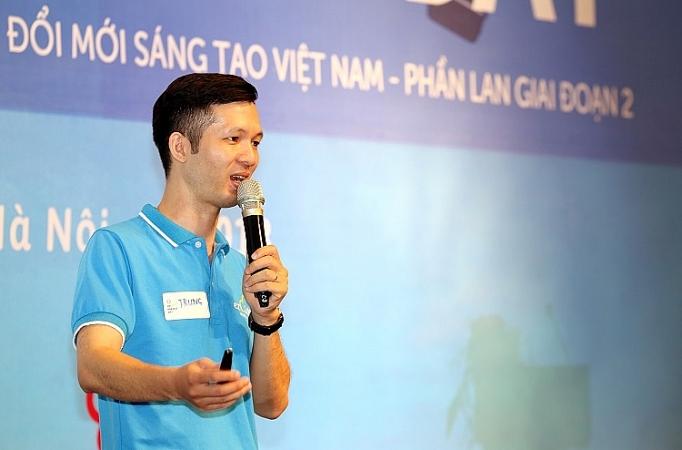 Anh Đặng Thành Trung, đồng sáng lập Công ty TNHH Công nghệ ezCloud.