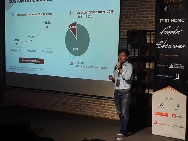 Startup Cheep cheep đang giới thiệu dự án