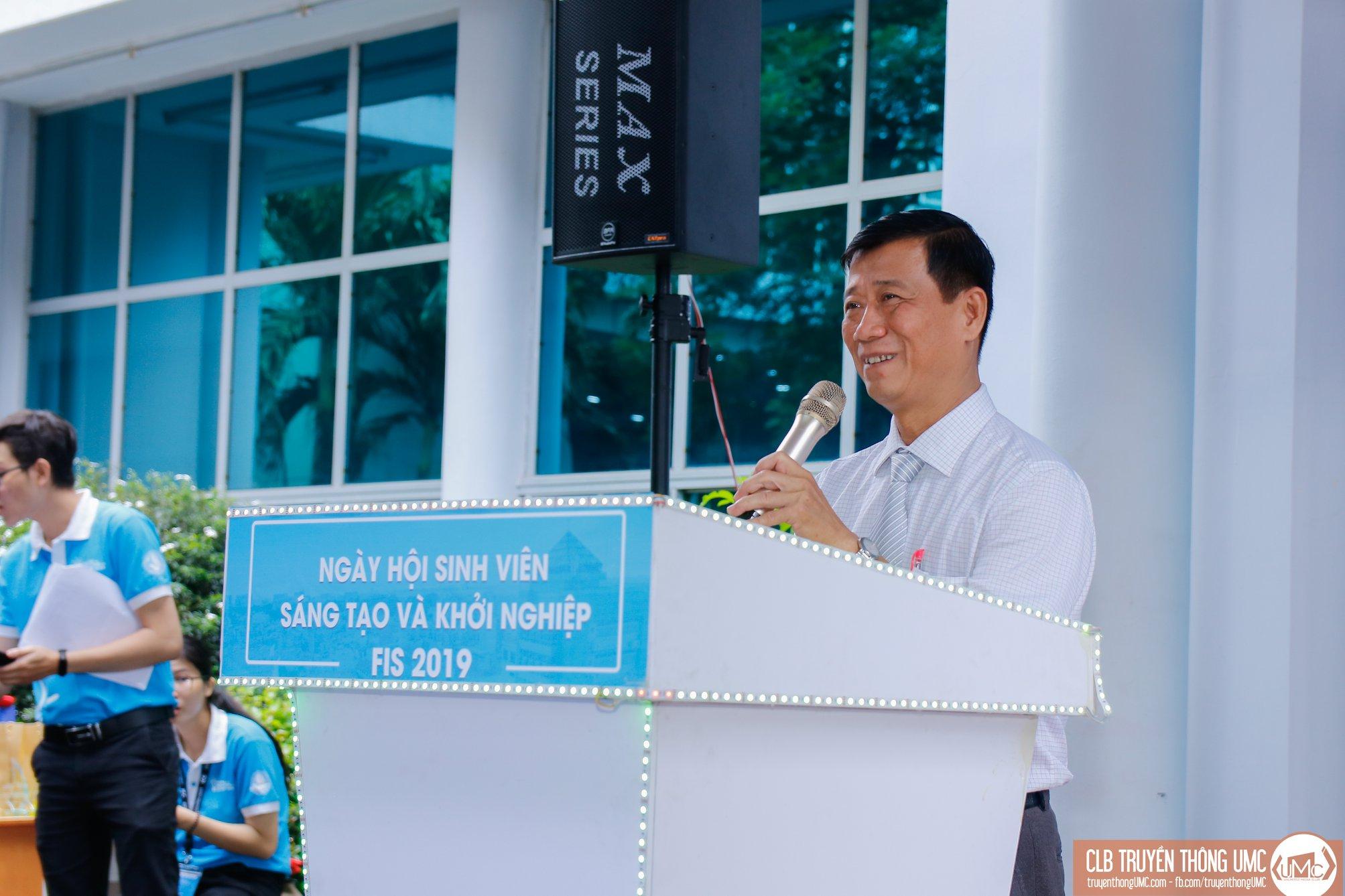 PGS.TS Lê Văn Tán – Phó Hiệu trưởng Trường Đại học Công nghiệp TPHCM