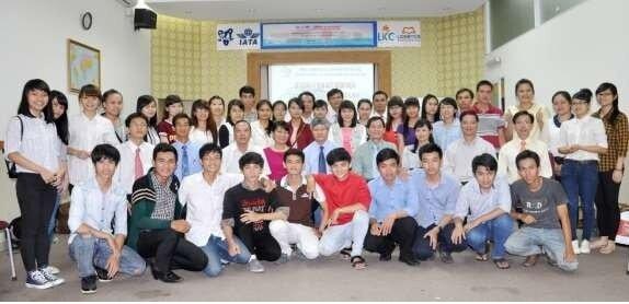 Khóa đào tạo về Khởi nghiệp đổi mới sáng tạo, kinh doanh liêm chính do Hội đồng tổ chức cho sinh viên ngành Logistics TP.HCM