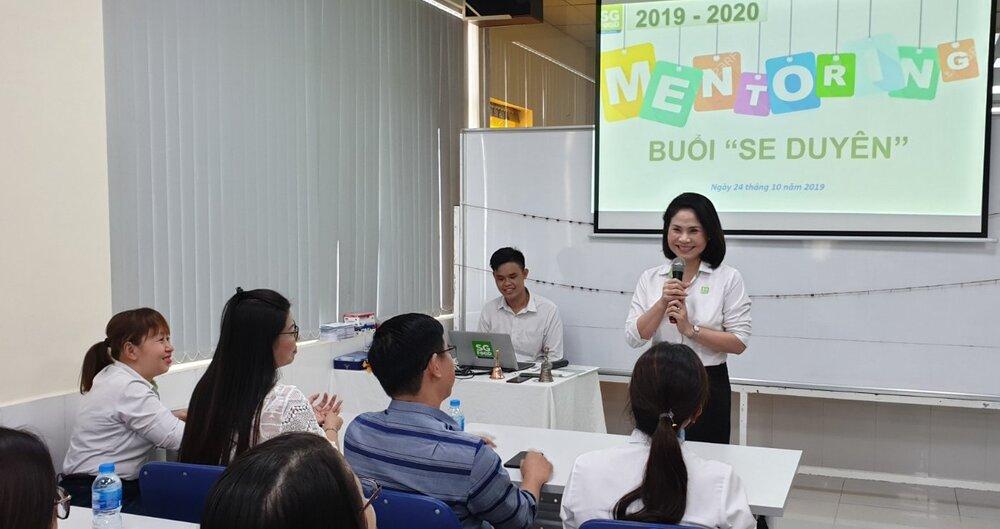 Mentor Lê Thị Thanh Lâm, Phó Tổng giám đốc Công ty cổ phần Sài Gòn Food, PCT Hội đồng TVHT Khởi nghiệp Quốc gia phía Nam, Chủ nhiệm Câu lạc bộ Mentoring