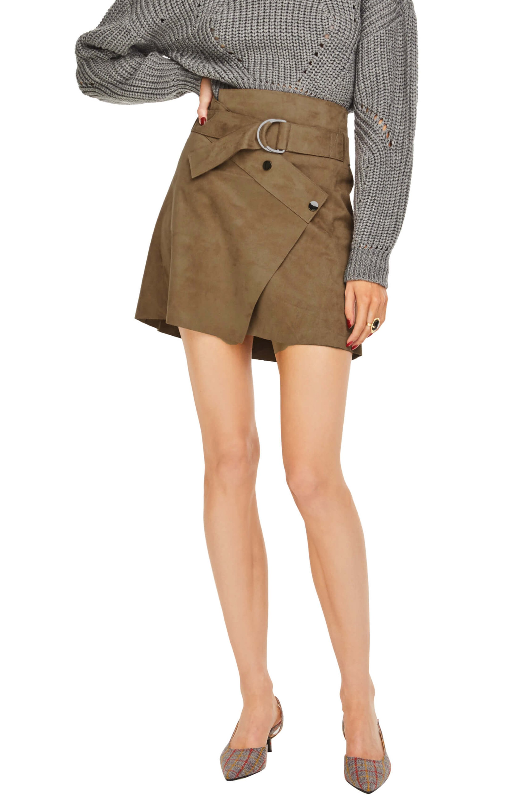 The Dionne Skirt - This skirt can be dressed up or down for any Turkey Day occasion. Try styling it with a chunky knit and some dainty jewels for a simplistic fall look.