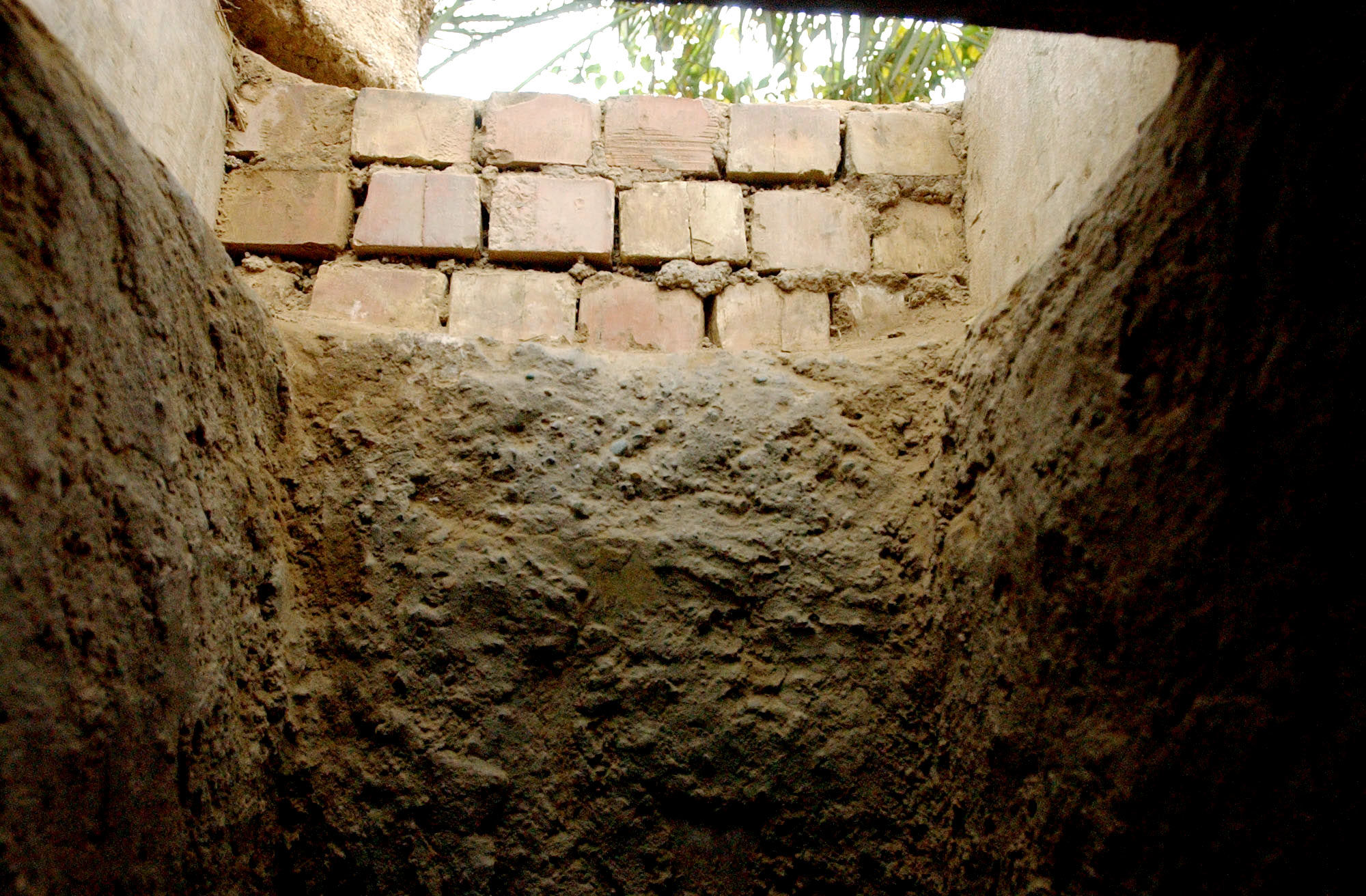 "The hole entrance measured 2-by-2 1/2 feet where deposed Iraqi President Saddam Hussein was caught in a hole on a farm house property in Al Dawr, near his hometown of Tikrit. ""I am Saddam Hussein. I am the President of Iraq and I am willing to negotiate,"" were Mr. Hussein's words to U.S. Special Forces when he was caught in the hole. ""President Bush sends his regards,"" greeted the soldier, according to the military press officer."