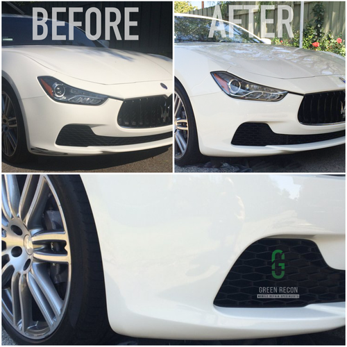 Green Reconditioning Covina Paint Scratch And Bumper Repair