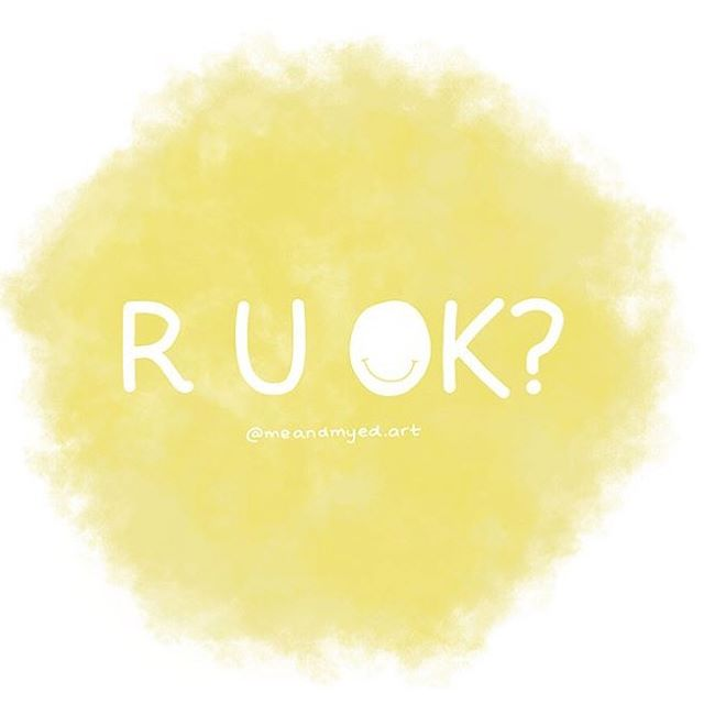 R u ok? This day is obviously a fantastic reminder for us all to check in with the people we care about, but I think it's also a great opportunity for us to ask ourselves if we're ok too! If you check in with yourself and you don't feel 100%, you can always flip this concept right on its head and REACH OUT for support, for help, for a shoulder to cry on or an ear to listen. You may be surprised to find out how many people in your life would love the opportunity to help you out if you would only ask! If you don't feel comfortable sharing with the people you know, you can always find help through organisations like lifeline, or counsellors like myself! So ask yourself, ask a mate, ask your mum! Admitting you're not really feeling ok is not a failure, it's the beginning of getting back to somewhere good 😊thank you to the delicious @meandmyed.art for creating this beautiful graphic which conveniently fits in with my insty aesthetic 😂