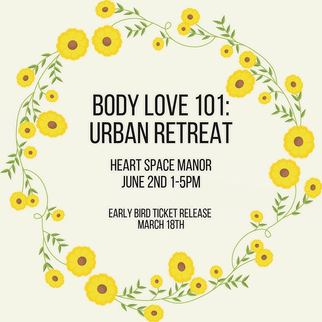 🌼N E W  W O R K S H O P🌼 Body Love 101: Urban Retreat, presented by The Inner Adventure, @revitalisenutrition @meandmyed.art and @yoga_perspective . Join us for an afternoon of luxurious self care at the stunning @heart_space_manor  In Bondi Junction and fall even deeper in love with the skin you're in. Further details via the link in bio, and on our Facebook page. Early bird tickets go on sale March 18 and places are strictly limited!! Bring a friend and start the lovin!