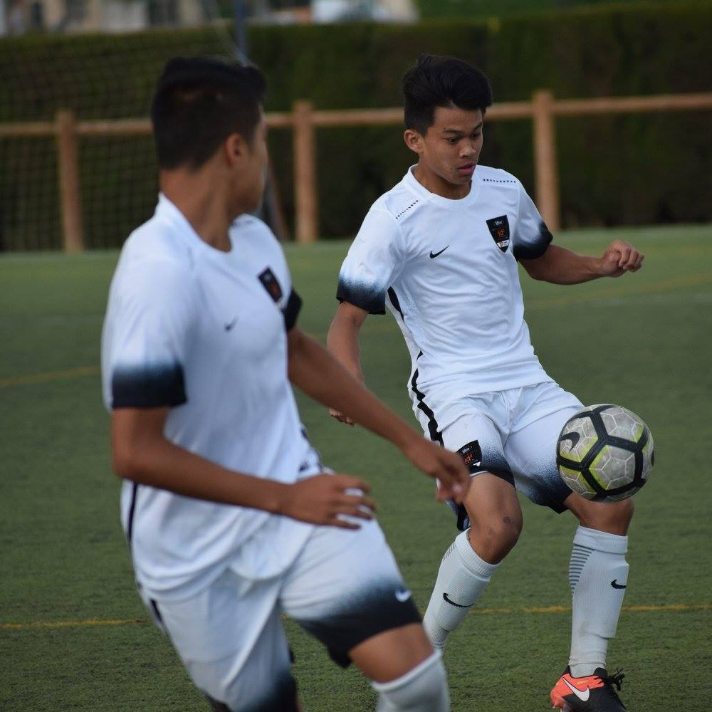 Logan Calpito - Hawaiʻi's third player to play on the id2 NSIT Team in Spain (2017).
