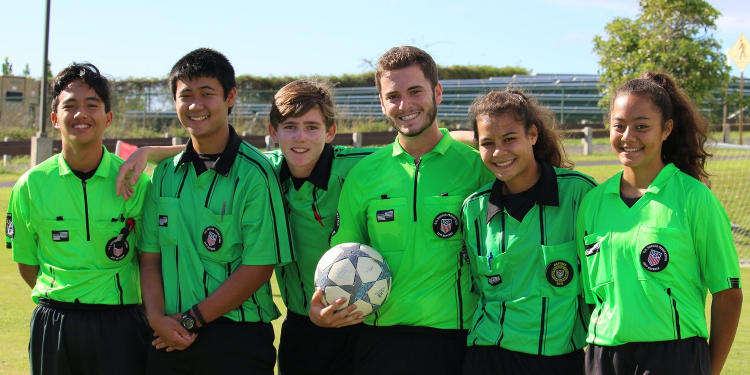 Referee Mentoring - A positive relationship with the officials shows that you Honor the Game, and reinforces your commitment to the rules and safety of your players.