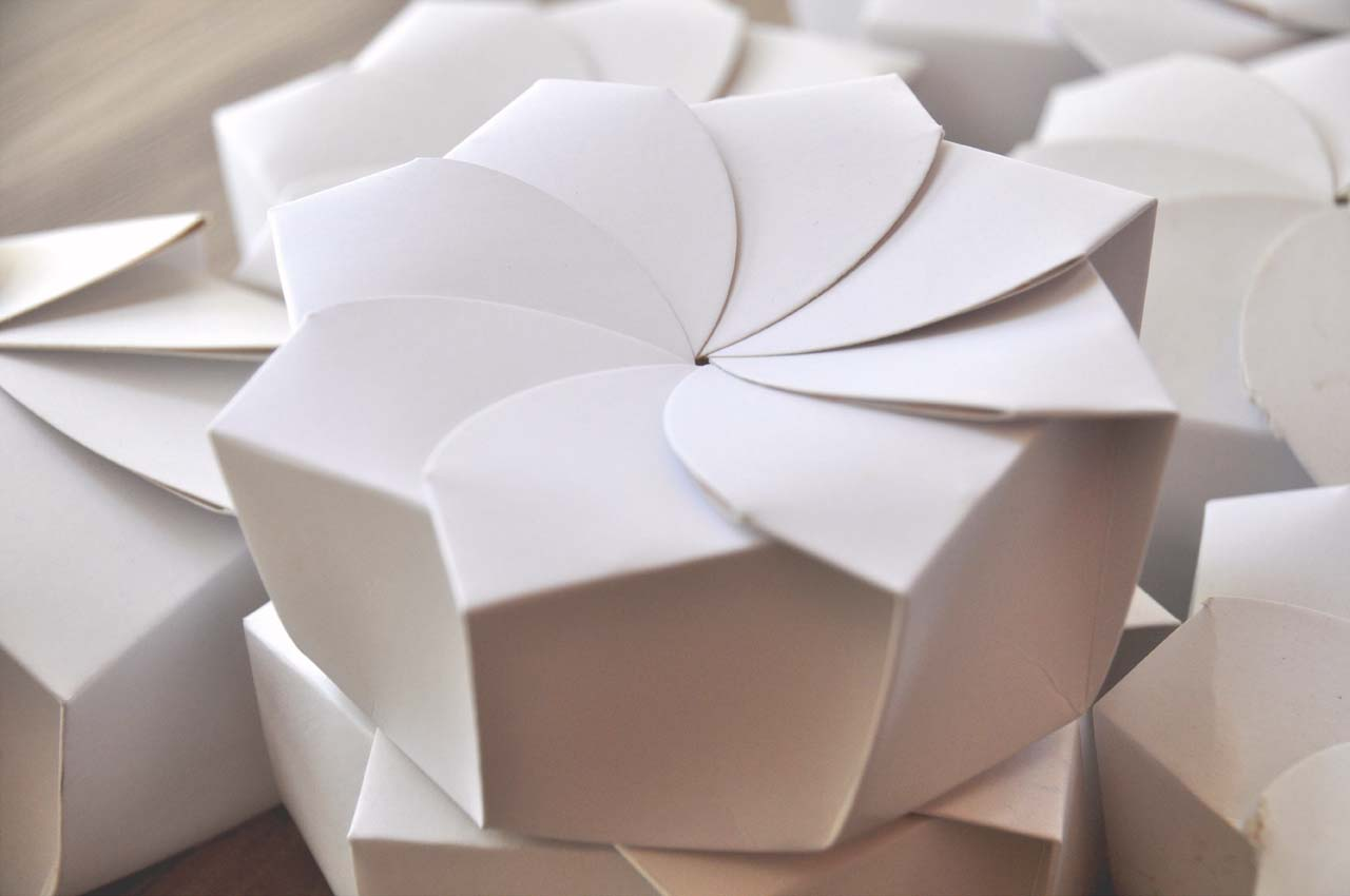 Sustainable Origami Food Box by Michealle Lee