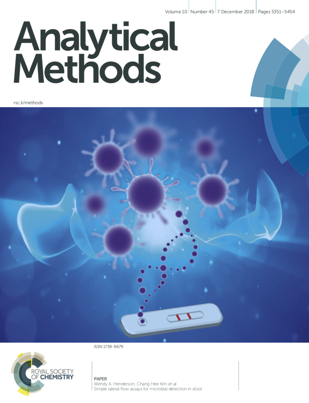 GoDx featured in Analytical Methods! - Read the GoDx article at http://xlink.rsc.org/?DOI=C8AY01475B