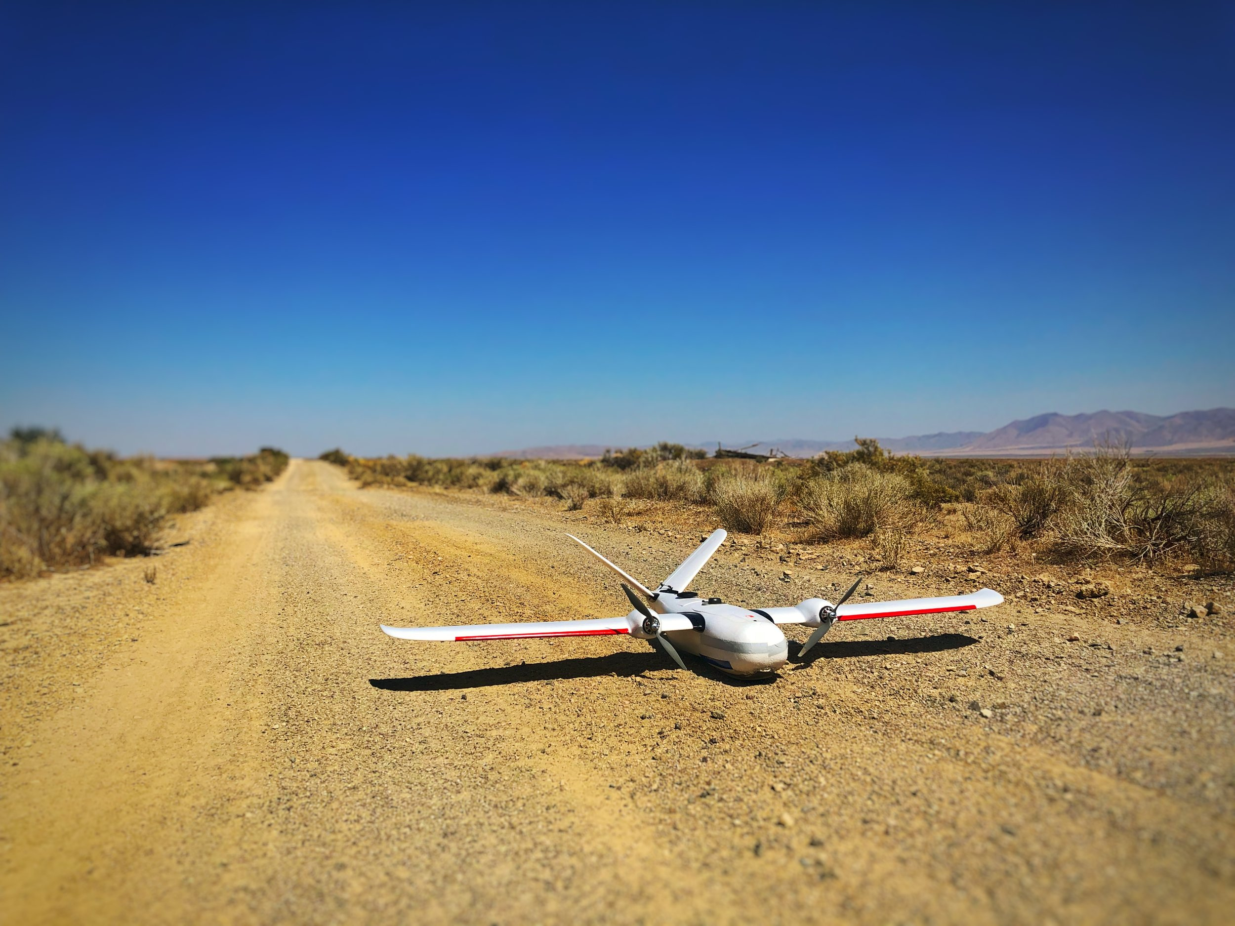 Our Custom fixed wing drone can sustain flight times close to 3 hours on a single battery, Collecting images of 1,500 acres of land at a time. We can collect roughly 2,800-3,000 acres worth of data in a single day.