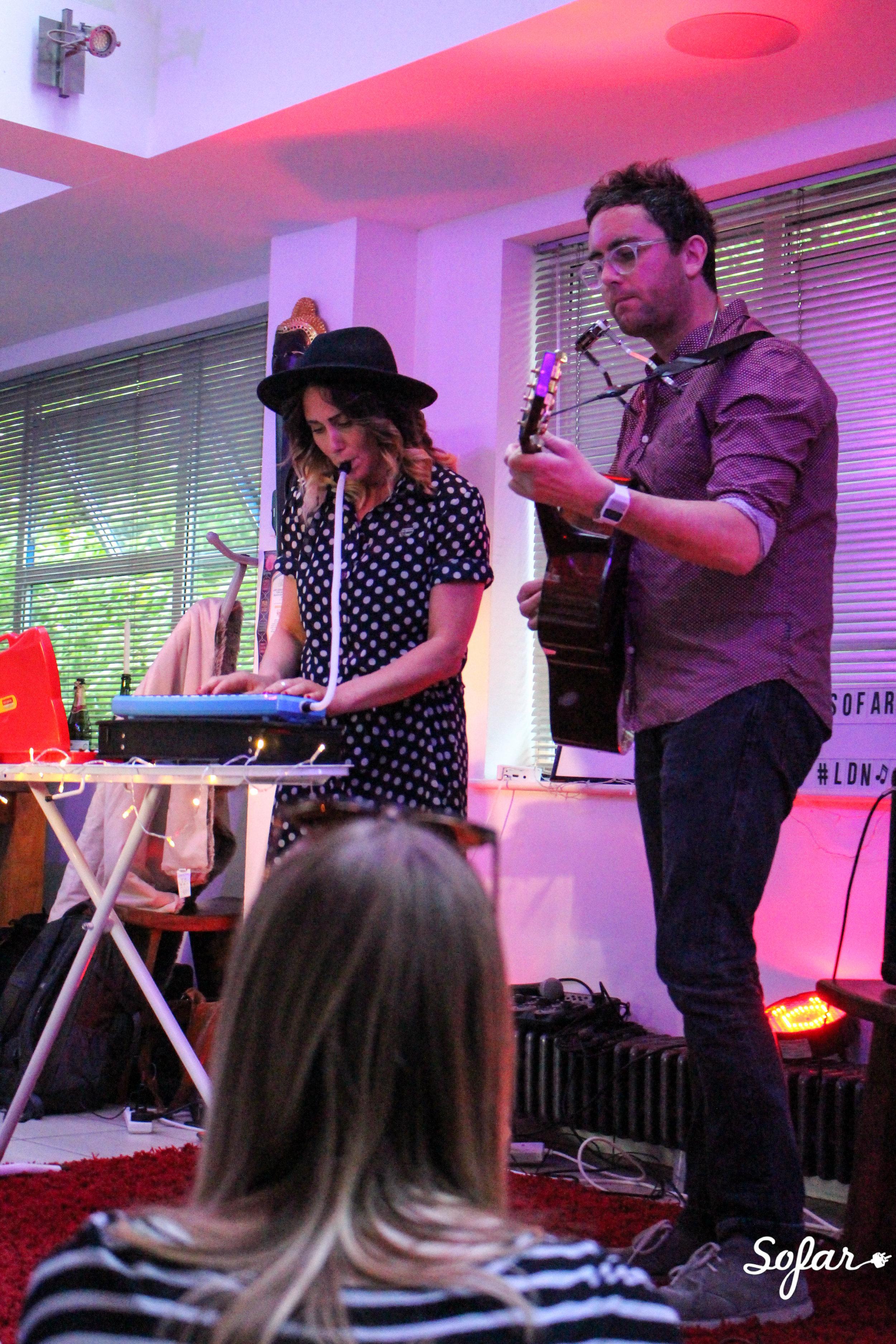 Mahoney & The Moment Live at Sofar Sounds London