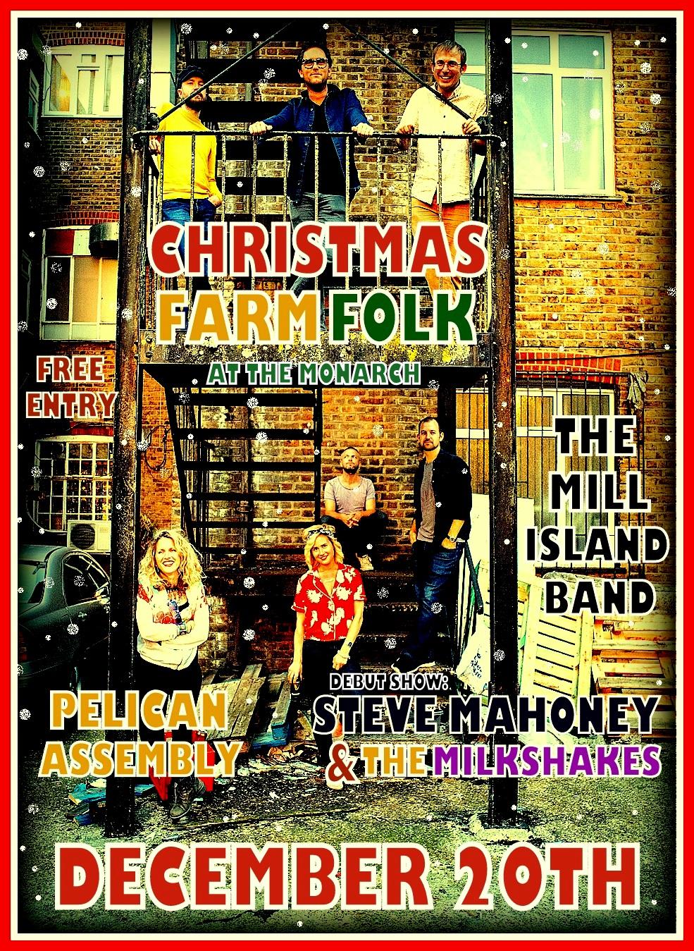 Christmas Farm Folk