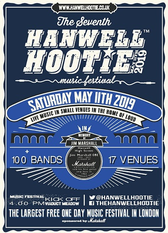 Hanwell Hootie - 9:30pm The Green W7