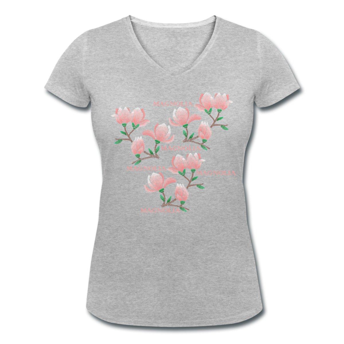 magnolia-t-shirt-med-v-ringning-dam-grå.jpg