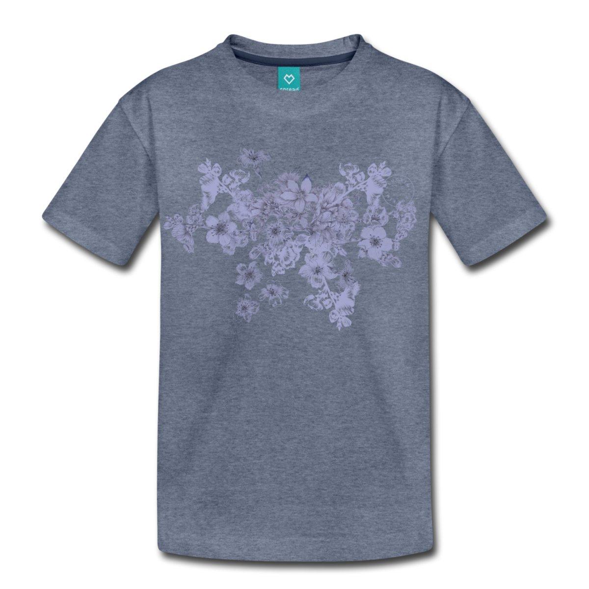 lavendel-blommor-premium-t-shirt-barn_blue.jpg