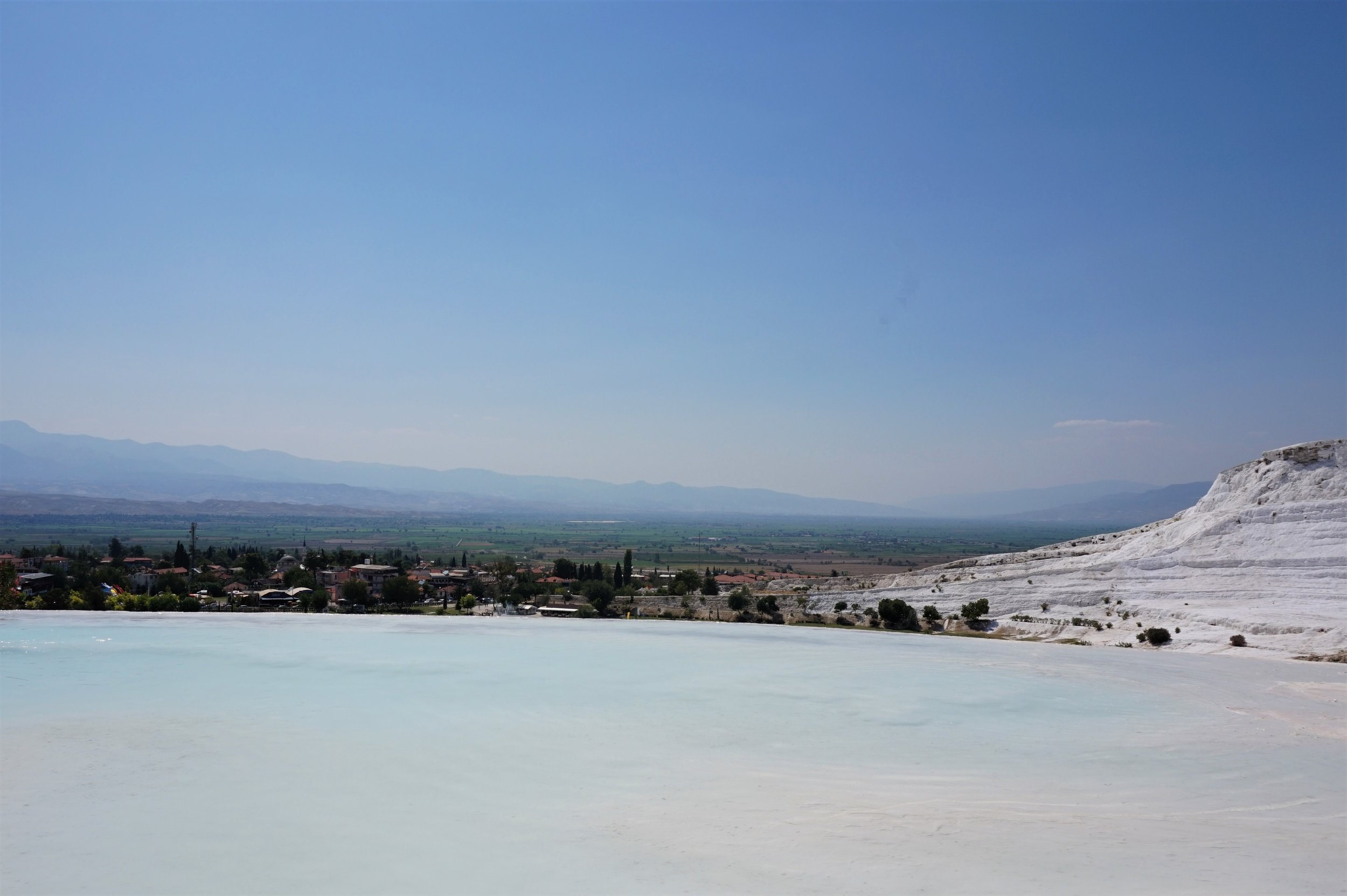Pamukkale Mineral Springs