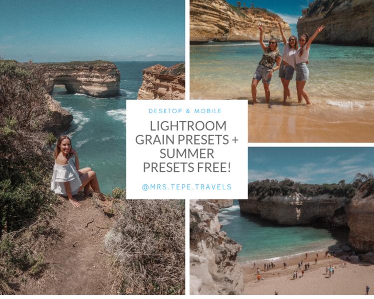 34 Lightroom presets for 2019  (17 Grain presets + receive 17 free summer  presets) — Mrs Tepe Travels - Luxury hotels, travel & lifestyle