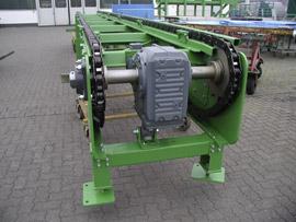 Trogkettenförderer Type KT  als Palettenförderer