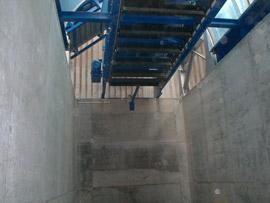 Kettenförderer Type KT  als Materialverteilung im Bunker