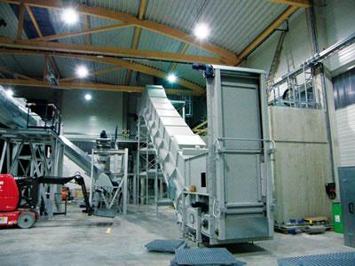 Kettenförderer Type KG  komplett gekapselt