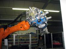SPS gesteuerter Greifer für Handelingroboter