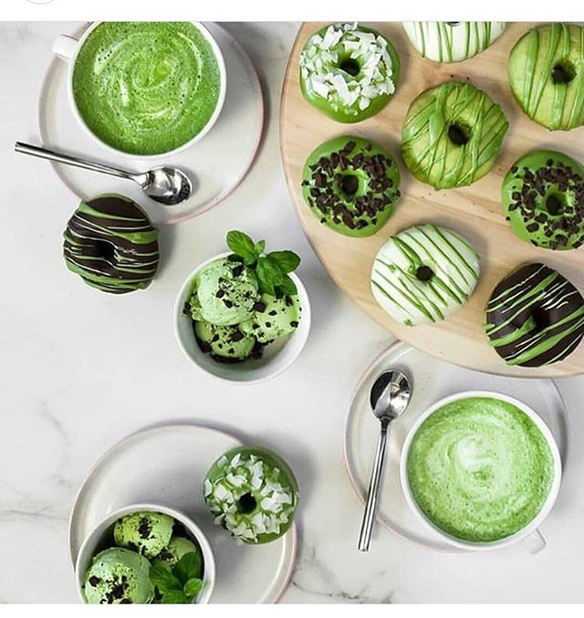 Fill your life with the green deliciousness of Matcha💚😍💚 Photo courtesy @matchaya.pl