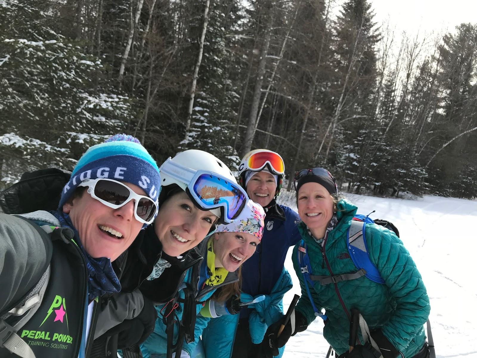 skiing at bittersweet