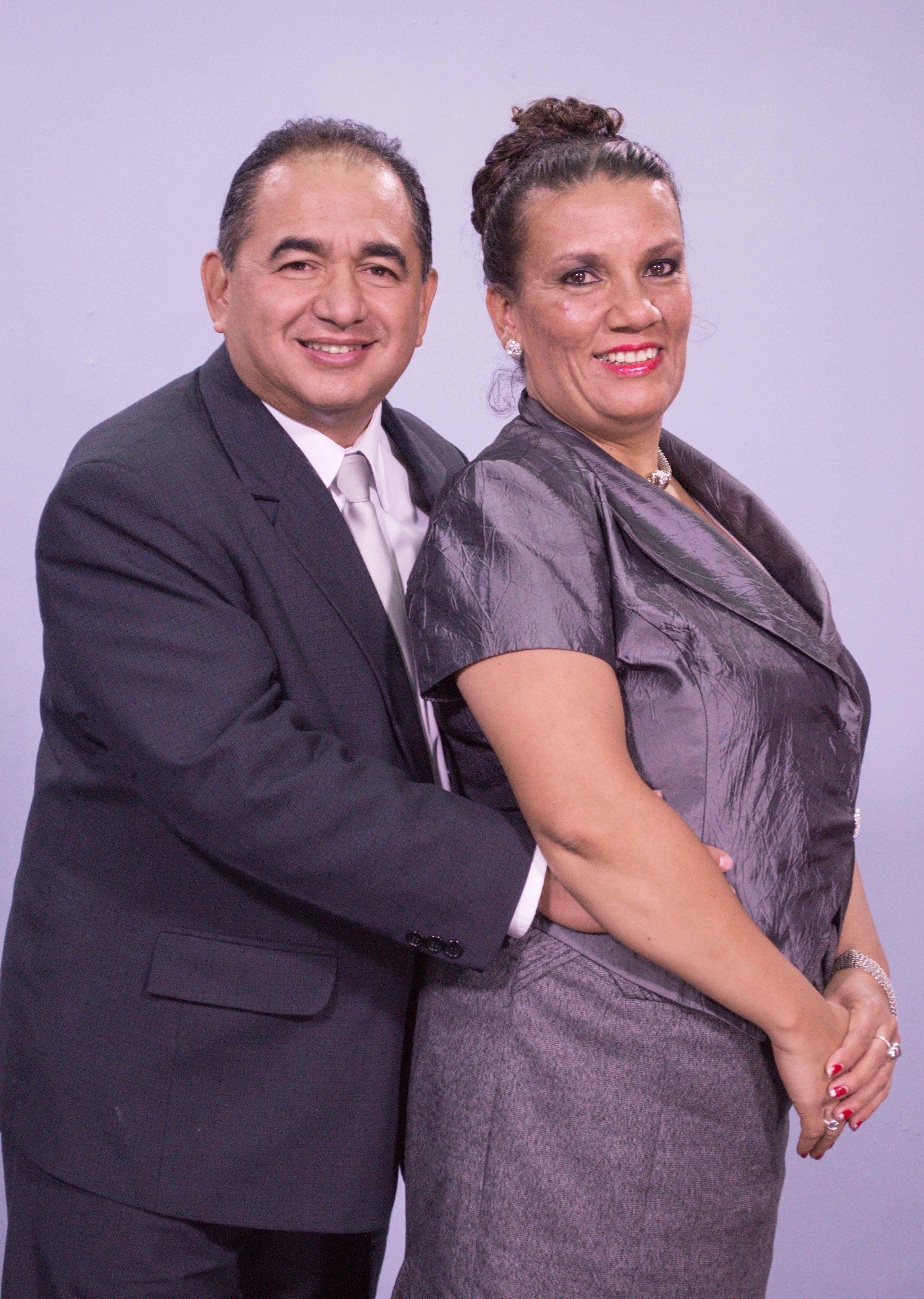 Pastores Galdino e Hilda de Lemus