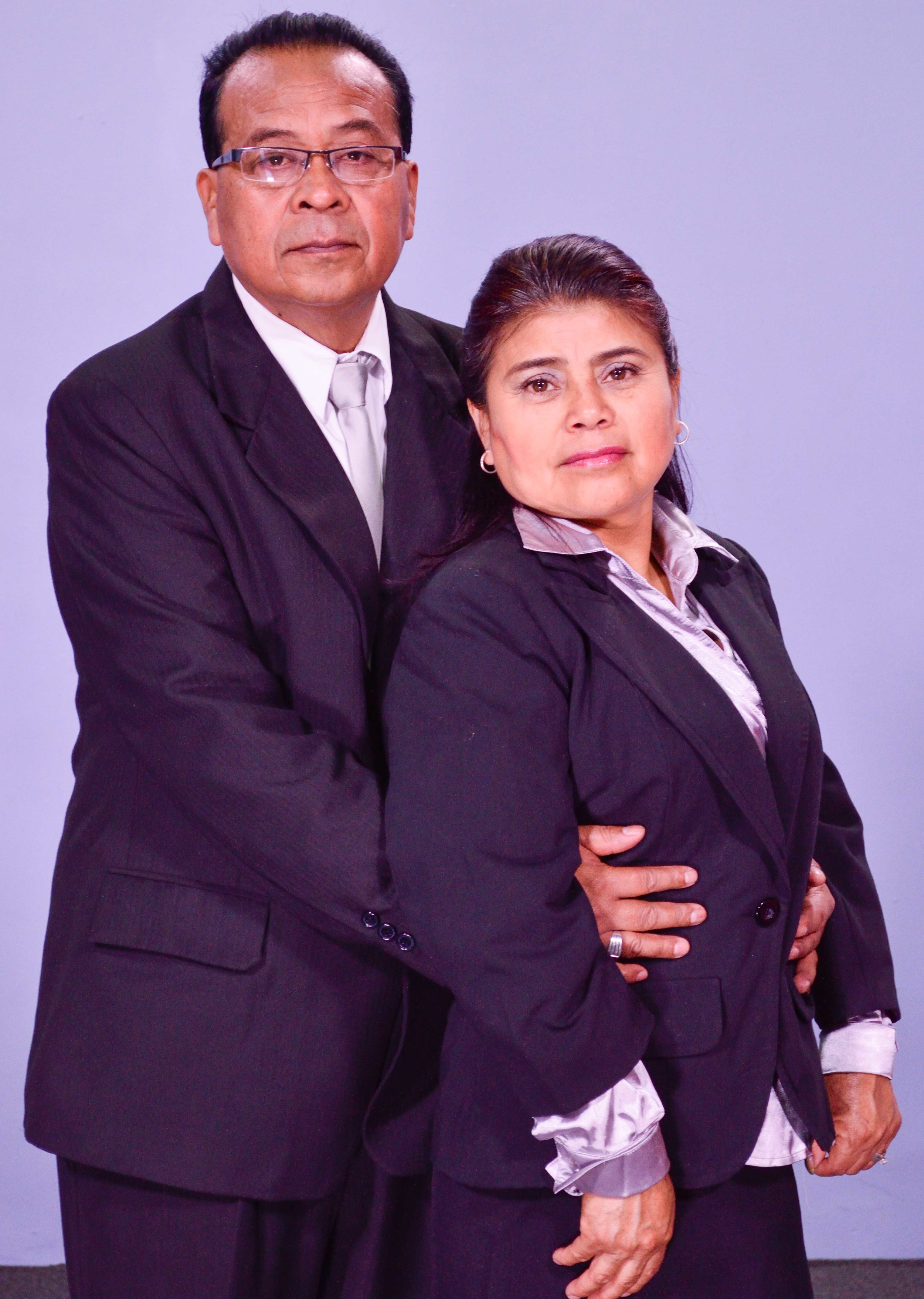 Pastores Ildefonso y Estefana Ramíres