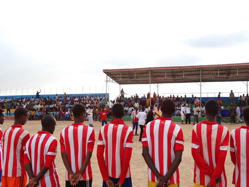 Inter-village tournaments promote sport in the region