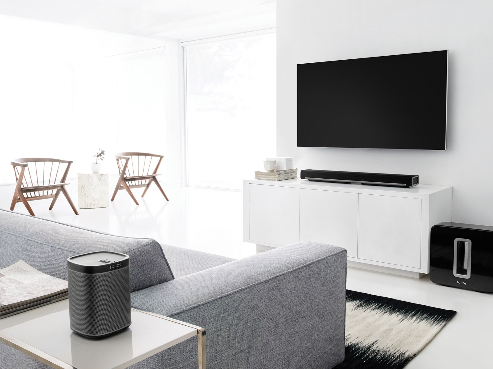 Entertainment - Enjoy all your music and TV all over the house.