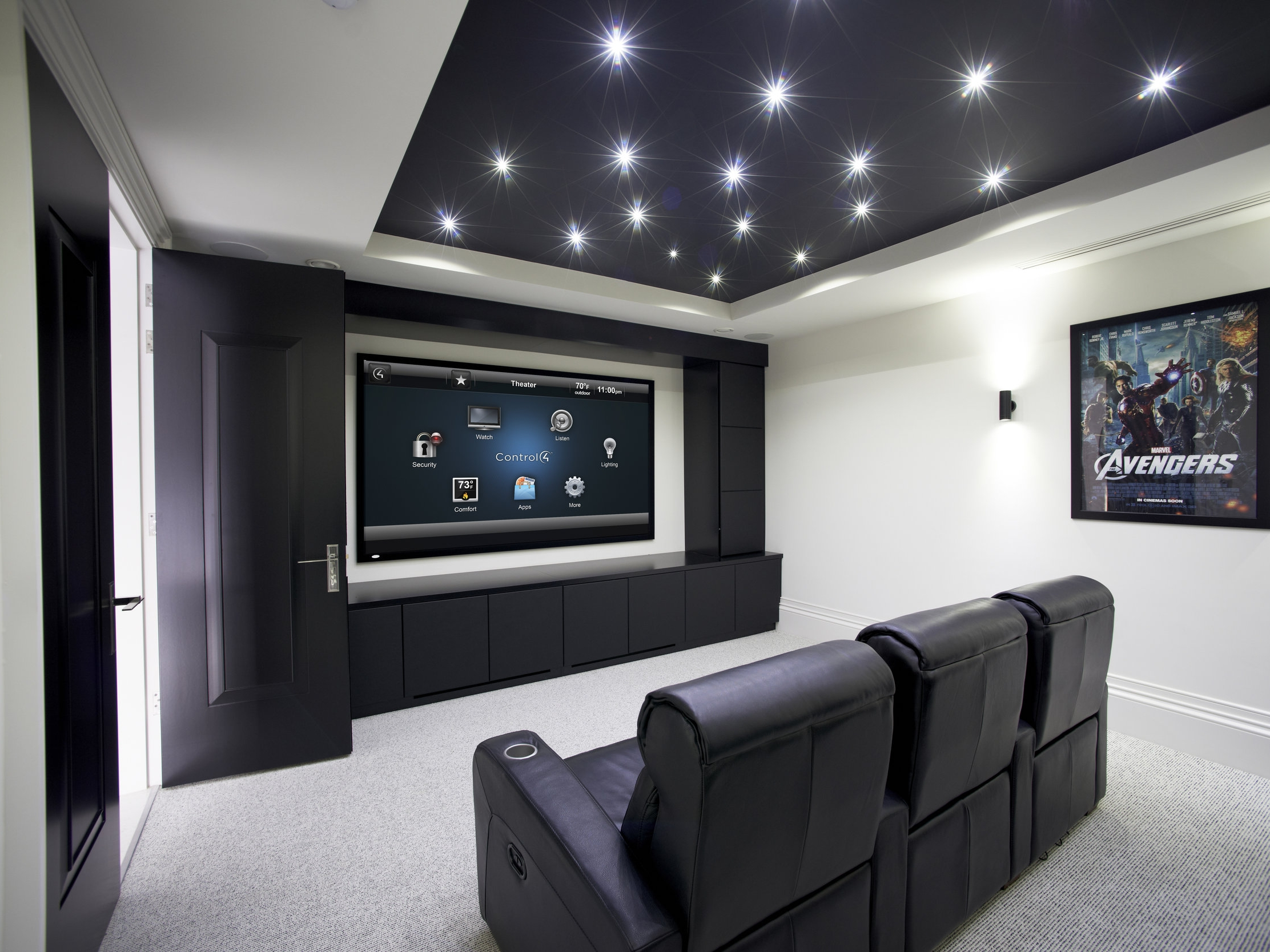 Home Cinema -  The magic of the movie theatre in the comfort of your own home.
