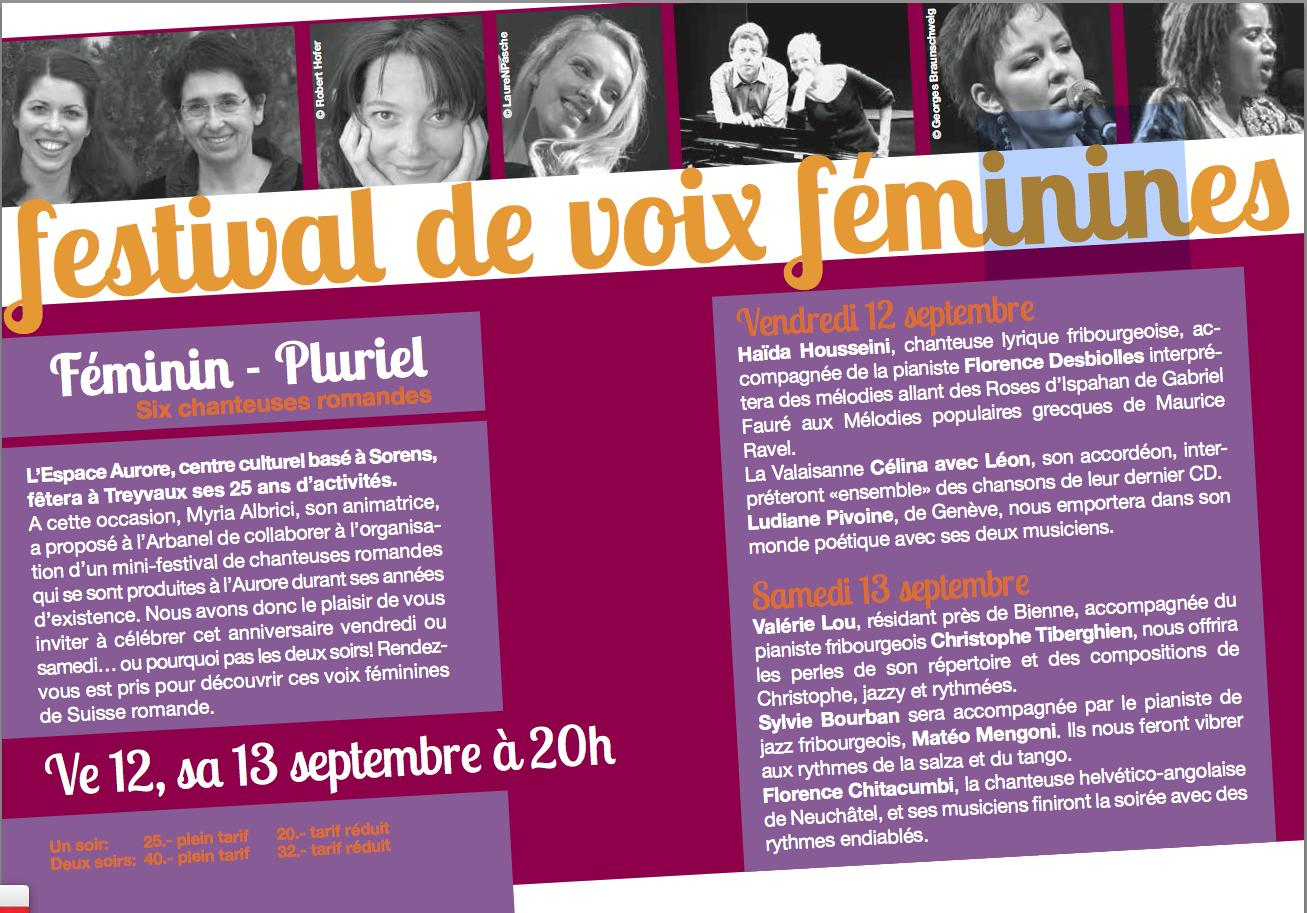 festival féminin-pluriel (programme Arbanel)