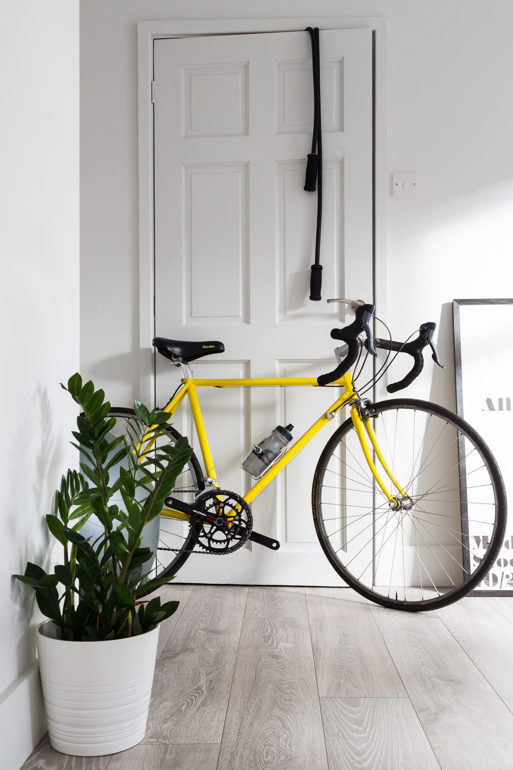 Bicycle in Hallway