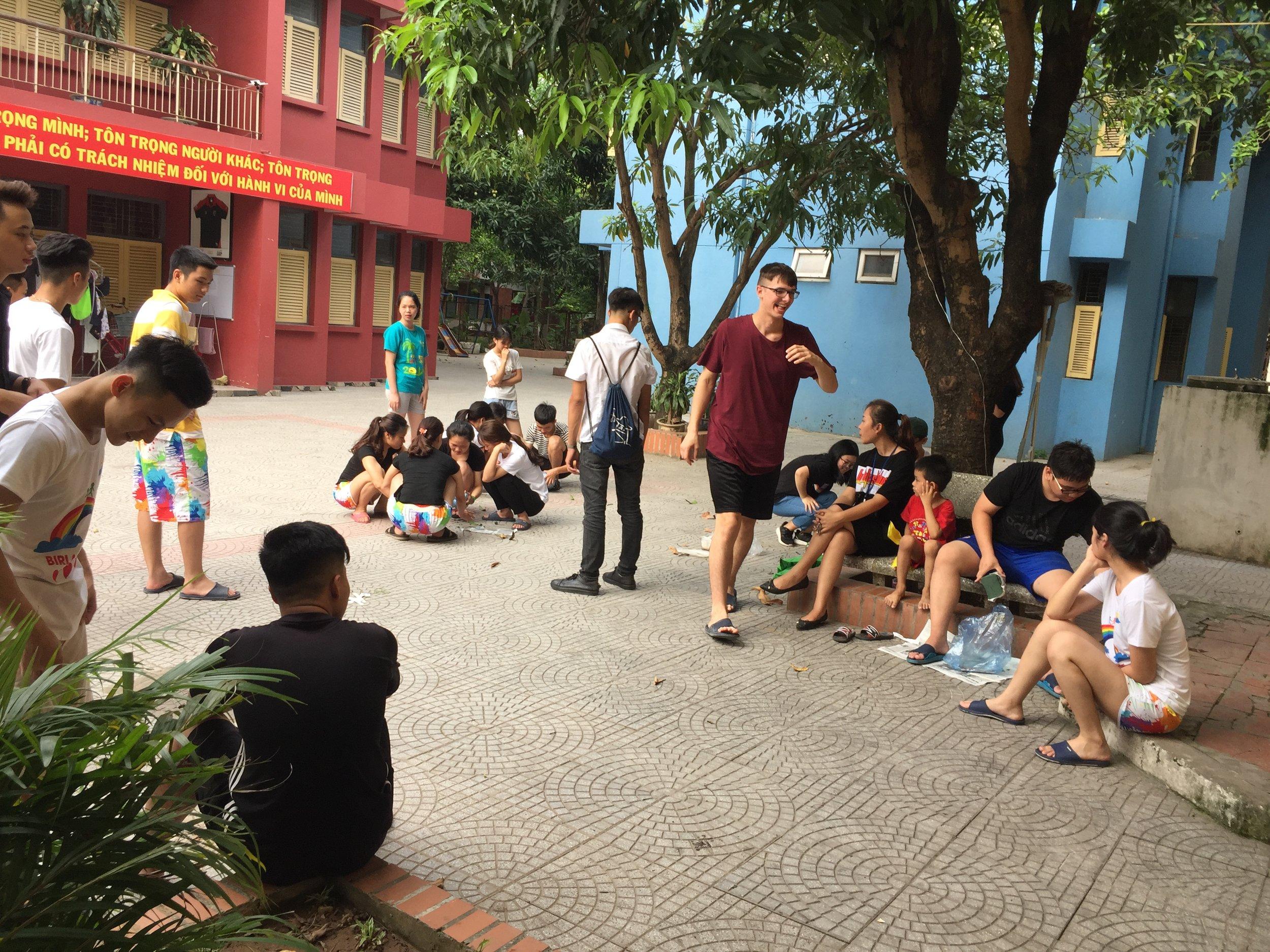 Game night at Birla Children's Village.