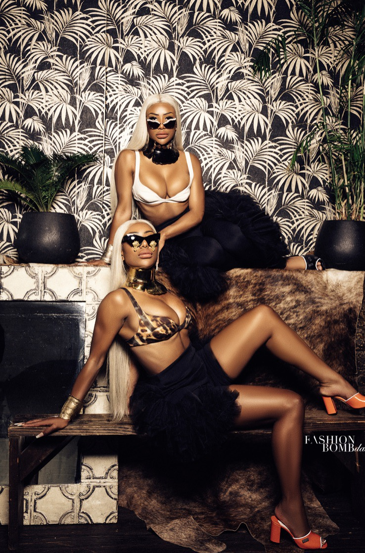Clermont Twins for Fashion Bomb Daily