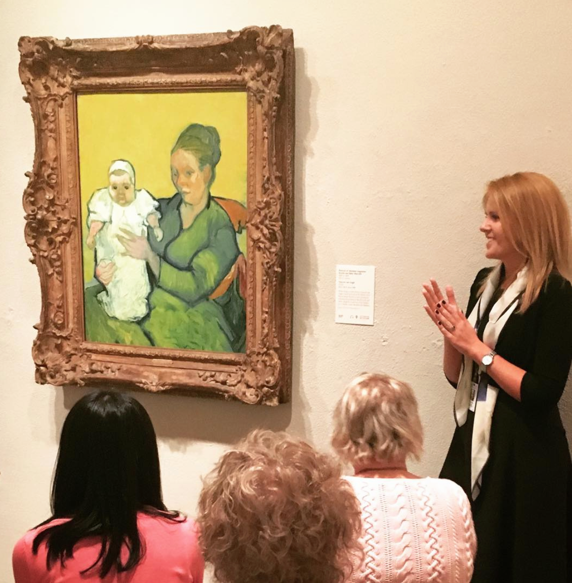 Gallery lecture at the Philadelphia Museum of Art, 2016.