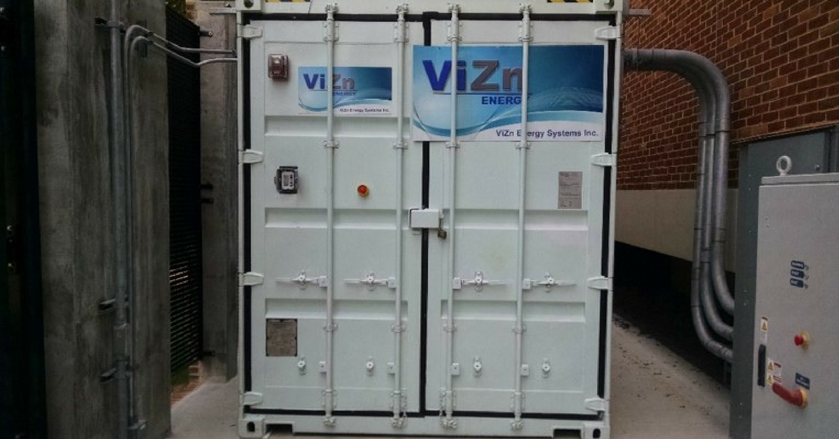 - RK Griffith is committed to a renewable energy future and safe and reliable energy storage is part of this generation mix. RK Griffith energy storage systems will help to us to realize these goals.Photo: VizN flow battery