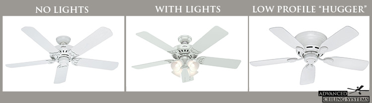 Types of ceiling fans buying guide - Learn about ceiling fans