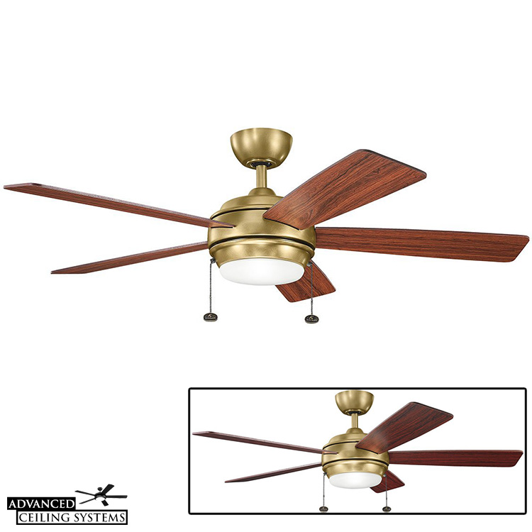 arts and crafts style ceiling fans with lights