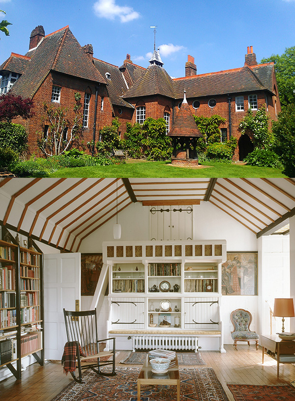 William Morris' Red House - Arts and Crafts style
