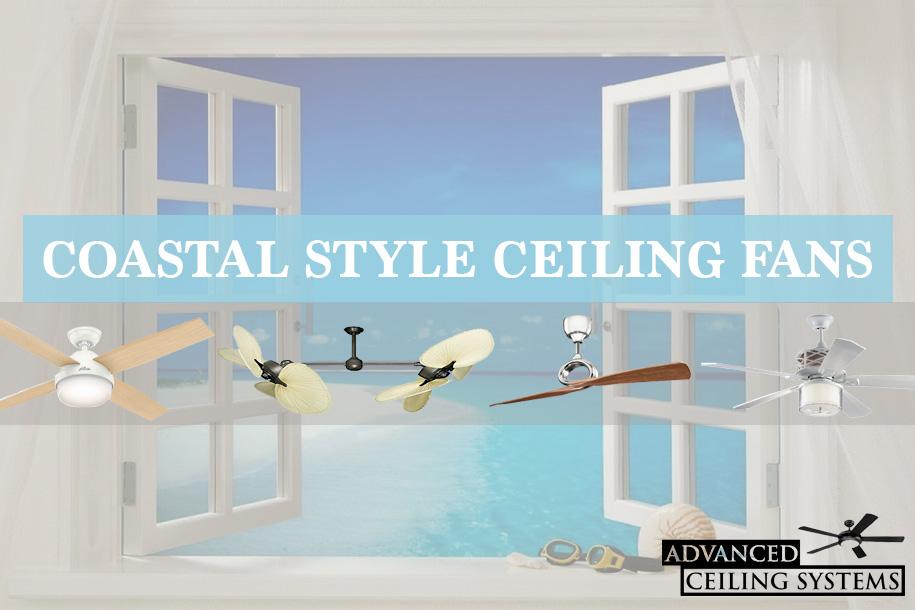 Coastal Ceiling Fans - beach ceiling fan