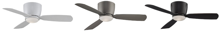 The Fanimation Embrace is available in multiple finishes to match your home decor.